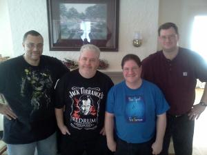 Me, Michael West Chris Chris Garrison & Rj Sullivan @ The IHW Retreat, Final Day! TCQ