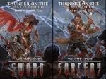 Double Book Cover Thunder on the Battlefield