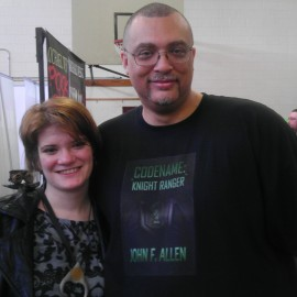 Me with author Selah Janel